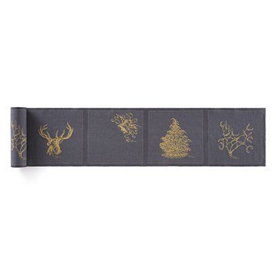 Салфетки 20 х 20 см, Linen Always Christmas My Drap 12 шт в рулоне